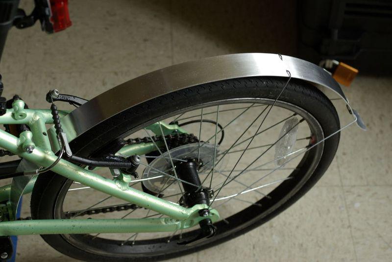 Крыло для велосипеда, секрет Мастера, сделай