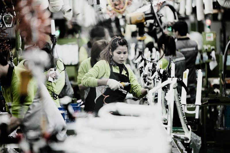Merida цех по производству велосипедов