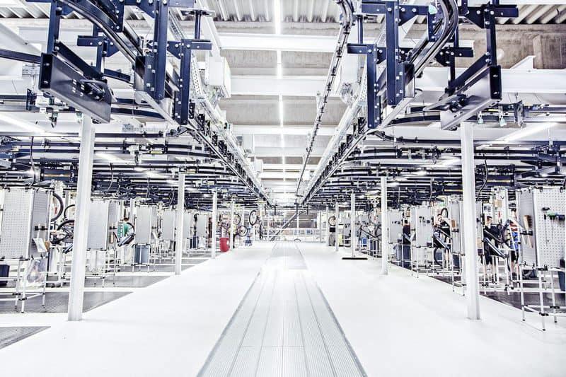 фабрика велосипедов CUBE в Вальдерсхофе