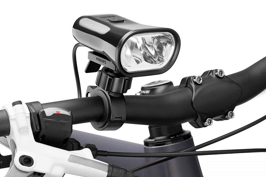 Как установить велосипедный генератор света