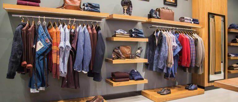 Как организовать гардероб для мужчины