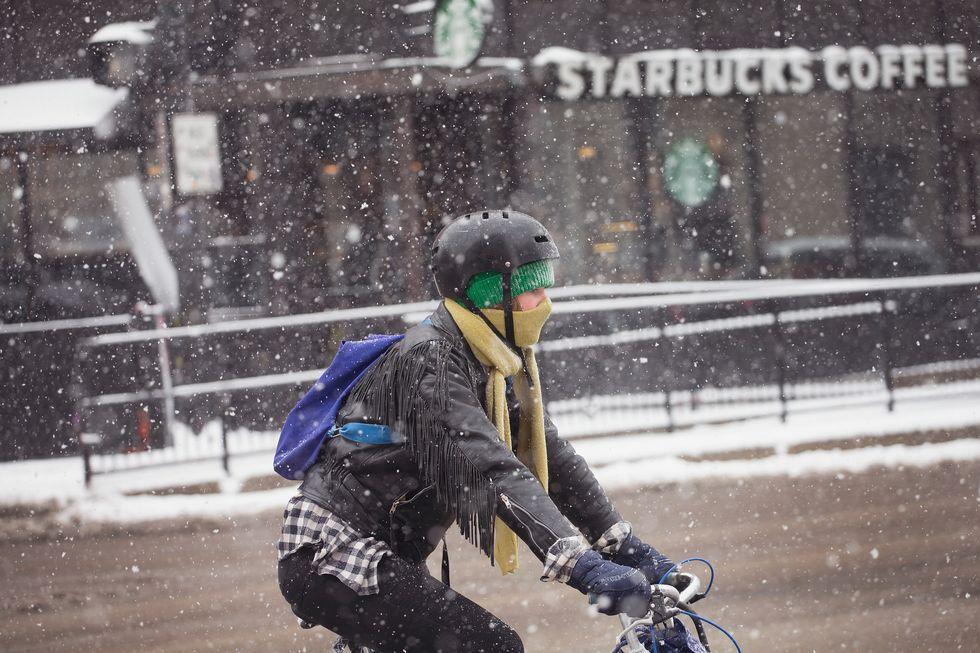 5 американских городов с самыми крутыми зимними велосипедистами