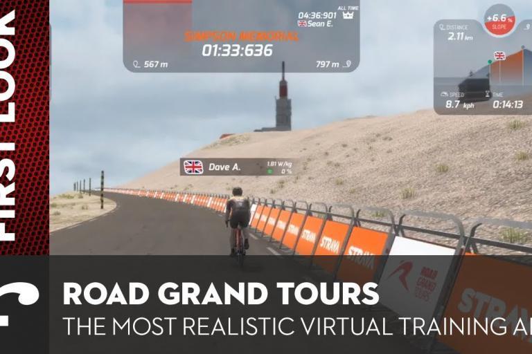 запускается новое приложение для тренировок в помещении RGT Cycling