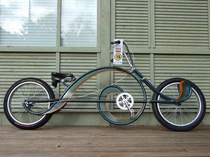 Фото: прототипы велосипедов. Часть 13