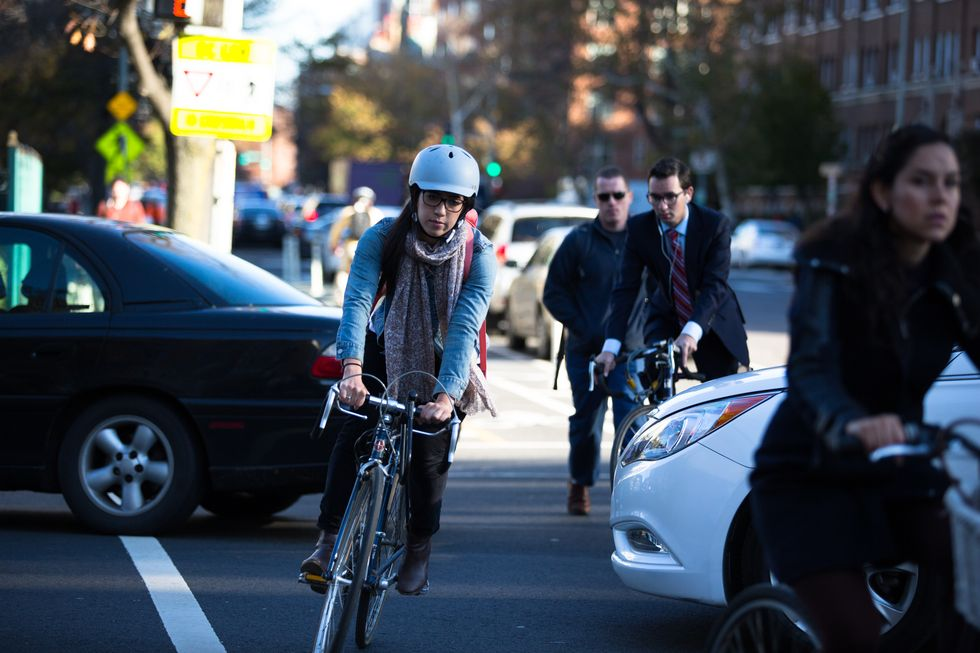 Приложение OurStreets позволяет велосипедистам сообщать о плохих водителях