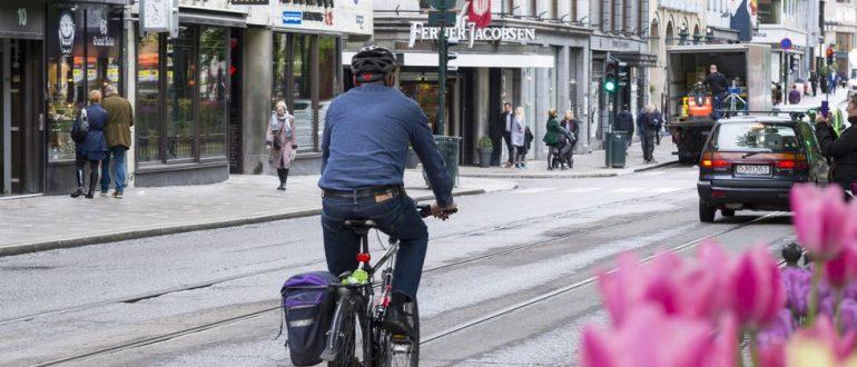 В столице Норвегии Осло в 2019 году не погибло ни одного пешехода и велосипедиста