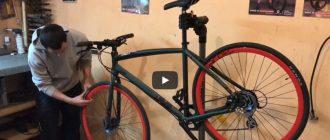 Видео: Бескамерка за 10 мин на велосипед с бюджетными колесами, без вложений