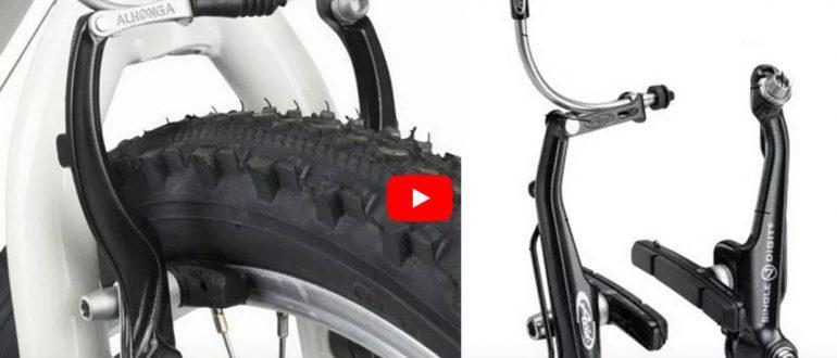 Тормоза V brake: настройка. Как настроить, отрегулировать и установить на велосипед
