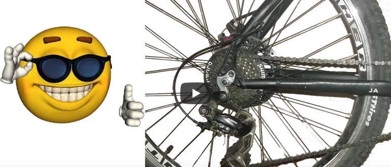 Видео: На велосипеде раскручивается заднее или переднее колесо. Как устранить?