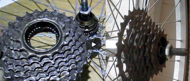 Задняя звезда трещетка, как разобрать трещетку велосипеда