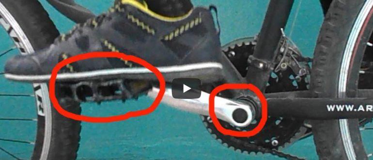 Как устранить скрип, хруст и стук в педалях и каретке велосипеда