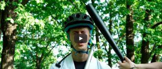 CRASH TEST велосипедных шлемов