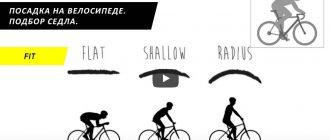 Посадка на велосипеде Часть 3. Подбор седла