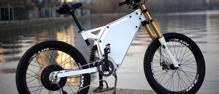 Техника будущего уже сегодня. Электровелосипед