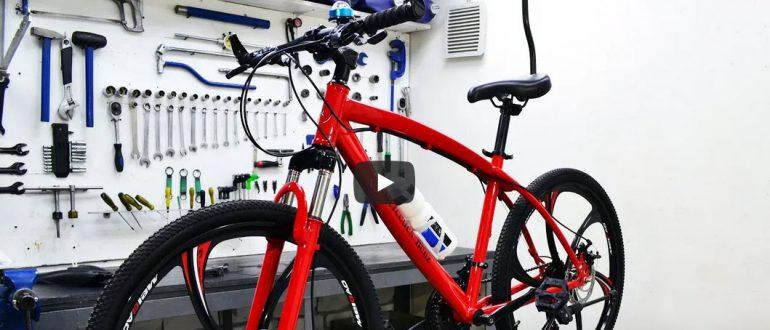 Велосипед на литых дисках. Даже не думай покупать!