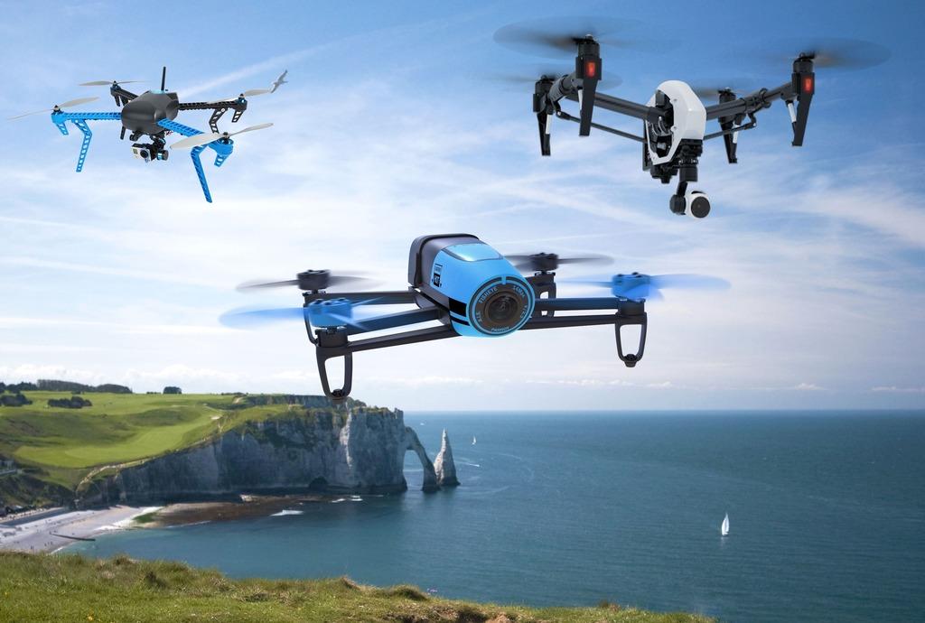 Квадрокоптеры – какими они бывают?