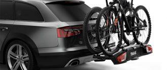 Велопоход на машине с велобагажником. Виды багажников, плюсы и минусы