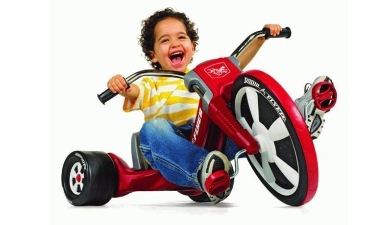 Как выбрать ребенку трехколесный велосипед?