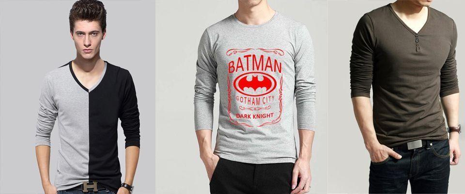 Какие стили футболок бывают?