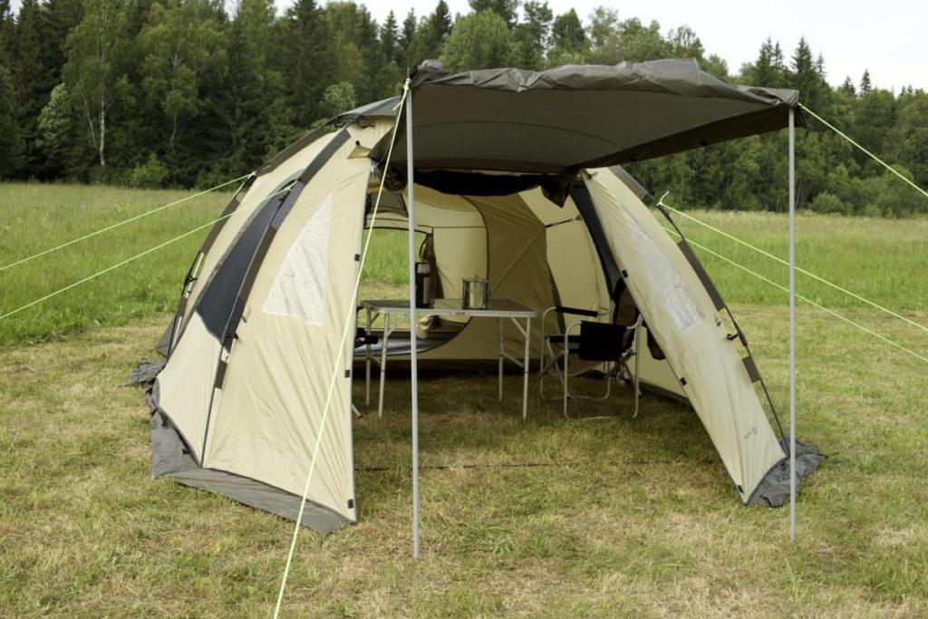 Многофункциональные палатки для активного туризма
