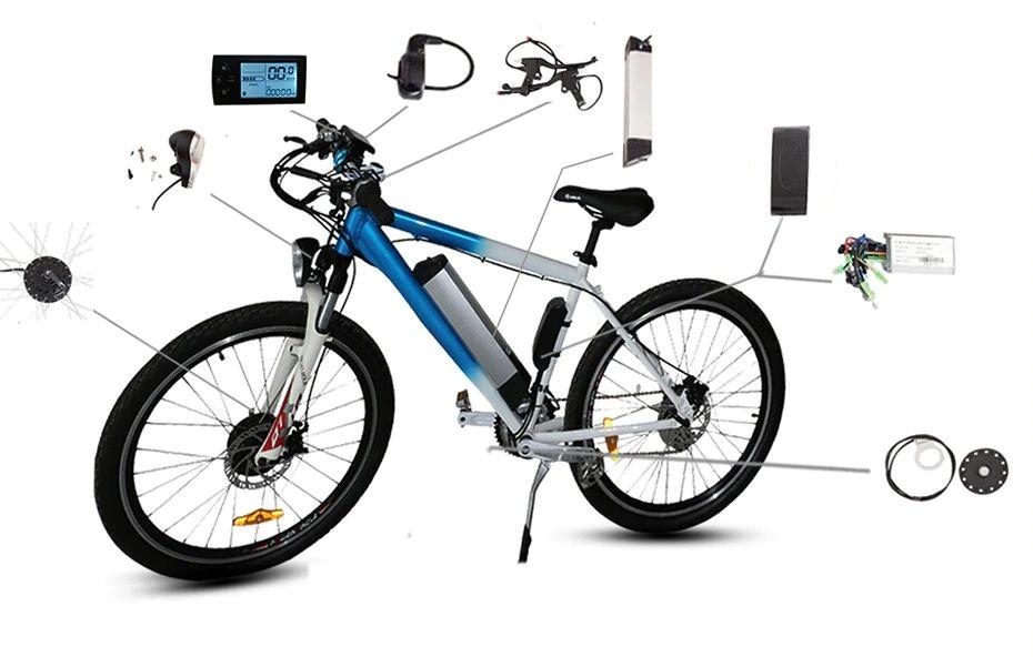 Электровелосипеды на базе наборов ТМ Evel