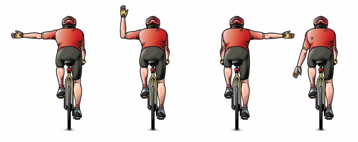 Правила дорожного движения: ПДД 24.5 - Расстояние между велосипедистами