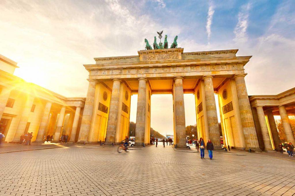 Экскурсия к Бранденбургским воротам