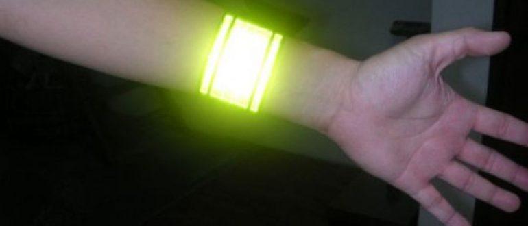 В чем преимущества светоотражающих браслетов?