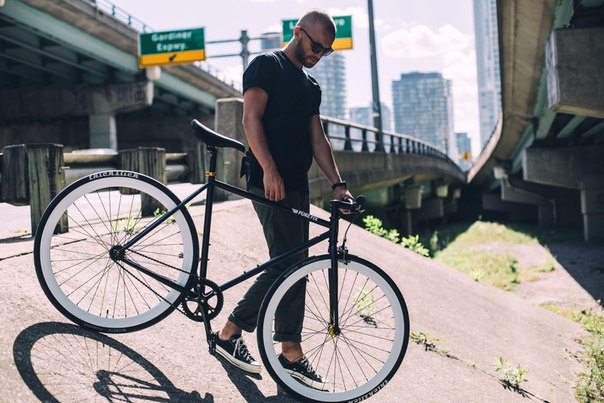 Преимущество велосипеда fixed gear